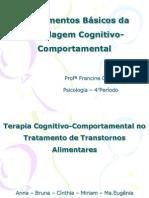 Psicologia - Terapia Cognitivo Comportamental No Tratamento de Transtornos Alimentares