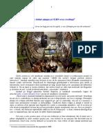 Despre duhul ştiinţei şi CERN-erea credinţei