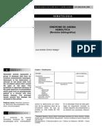 Revista Médica de Costa Rica y Centroamérica - Síndrome de anemia hemolítica