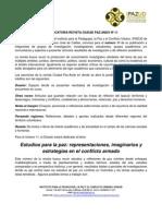 Convocatoria Revista Ciudad Paz-Ando N. 11
