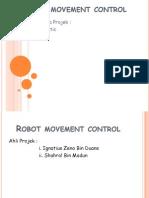 Robotic Movement Control