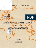 Arheologia Preistorica a Lumii Neolitic Eneolitic II