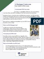 FHA Loan Guide