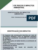 AULA 4 -IDENTIFICAÇÃO DE IMPACTOS