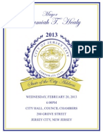 State of the City Address 2013