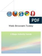 Web Browsers Today