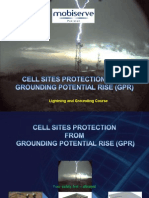 Cell Sites Protection From Ground Potential Rise (GPR)