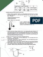 Soal UTS mekanika fluida 2010