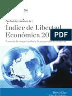 Indice de Libertad Economica 2012