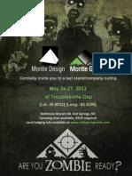 Last Stand 2013 - Montie Design / Montie Gear Company Event
