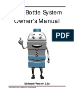 Mr. Smart Bottle - Owner's Manual