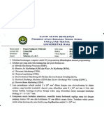 Soal UAS proses produksi II, 2010