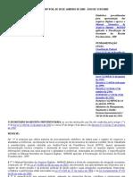 PORTARIA MPS_SRP Nº 58, DE 28 DE JANEIRO DE 2005 - MANAD