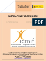 COOPERATIVAS Y MUTUALIDADES (Es) CO-OPERATIVES AND MUTUALS (Es) KOOPERATIBAK ETA MUTUALITATEAK (Es)