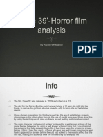 'Case 39'- Horror Film Analysis (Finished)