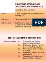 FirstLectureOfEngineeringGeology[IntroToGeol&EnggGeol]4Feb13