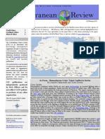 CFC Mediterranean Basin Review, 05 February 2013