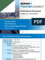 1.5_Kofax Partner Connect 2013_Gewinnen Mit Kofax_Hartmann Success Story