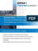 1.4_Kofax Partner Connect 2013_Gewinnen Mit Kofax - Pharma Industry Success Story