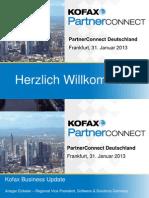 1.1_Kofax PartnerConnect 2013_Willkommen_Firmenvision Und Strategie