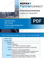1.6_Kofax Partner Connect 2013_Gewinnen Mit Kofax_SAF Success Story
