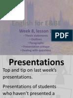 E&BE lesson 3