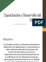 4. Capacitación y Desarrollo del Personal