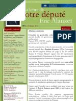 Lettre n°2 -Eric Alauzet - 20 février 2013