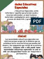 Necesidades Educativas Especiales Relacionadas