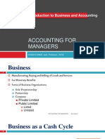 Accounting for Managers - Introduction