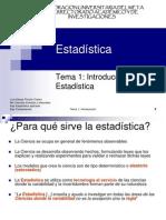 Cap. I_Introduccion a La Estadistica