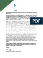 ELI Testimonial Letter - April Brown