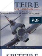 Osprey - Aerospace - Spitfire - Flying Legend - 60th Anniversary 1936-96