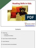 Building Reading Skills In Kids