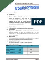 Renta de Quinta Categoria(1)