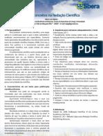 2011 - Novos Conceitos na Redação Científica