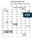 2013 Trimester First Student Planner
