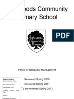 Behaviour Management Policy-1