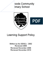 Learning Support Policy-1