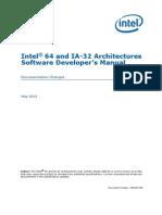 Intel Manual Changes