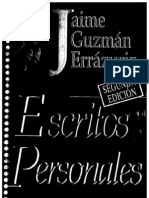 Escritos Personales Jaime Guzman