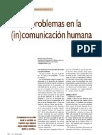 8 Problemas en La INcomunicacion Humana