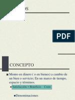 Clase 5 - Precios