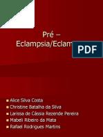 Pré – Eclampsia