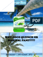 Why Coco Quench or Nariyal Pani