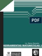 1 B - Matematica I - Herramientas+Matematicas+I+(ALGEBRA)