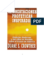 Amonestaciones ProfÉticas as - Duane s. Crowther