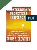 Amonestaciones ProfÉticas as - Duane s. Crowther