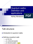 QuantumWalks.ppt