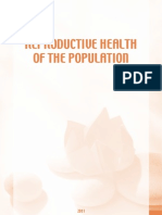 """Study """"Reproductive Health of the Population in Latvia""""."""